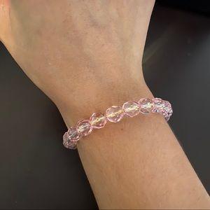 Alex and Ani Pink Beaded Bracelet